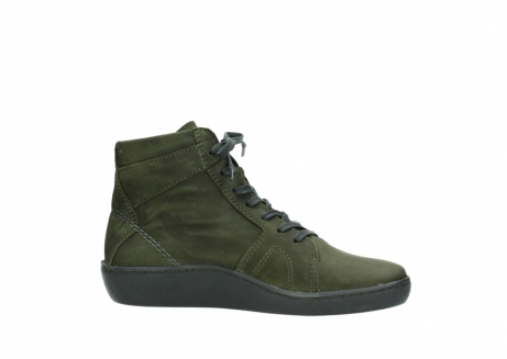 wolky lace up boots 08130 zeus 50730 forest green oiled leather_14
