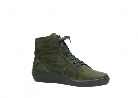 wolky lace up boots 08130 zeus 50730 forest green oiled leather_15