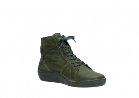 wolky lace up boots 08130 zeus 50730 forest green oiled leather_16