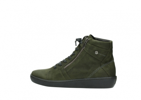 wolky bottines a lacets 08130 zeus 50730 cuir vert_2