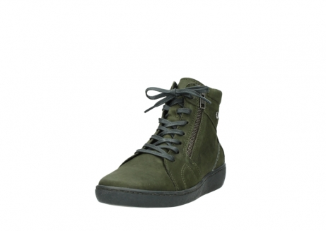wolky bottines a lacets 08130 zeus 50730 cuir vert_21