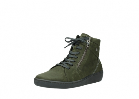 wolky bottines a lacets 08130 zeus 50730 cuir vert_22