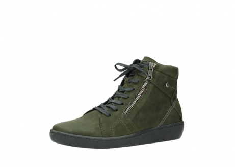 wolky bottines a lacets 08130 zeus 50730 cuir vert_23