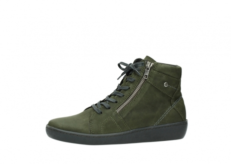 wolky bottines a lacets 08130 zeus 50730 cuir vert_24