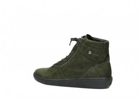 wolky lace up boots 08130 zeus 50730 forest green oiled leather_3