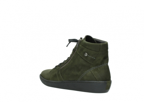 wolky bottines a lacets 08130 zeus 50730 cuir vert_4