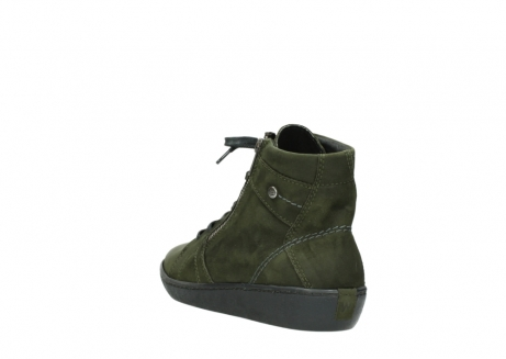 wolky lace up boots 08130 zeus 50730 forest green oiled leather_5