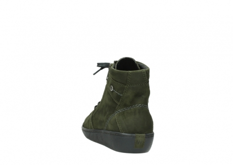 wolky lace up boots 08130 zeus 50730 forest green oiled leather_6