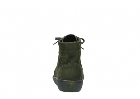 wolky lace up boots 08130 zeus 50730 forest green oiled leather_7