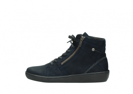 wolky lace up boots 08130 zeus 50800 blue oiled leather_1