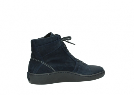 wolky lace up boots 08130 zeus 50800 blue oiled leather_11