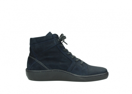wolky lace up boots 08130 zeus 50800 blue oiled leather_13