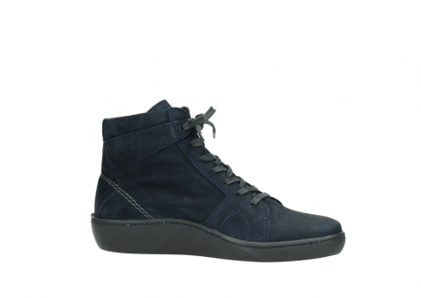 wolky lace up boots 08130 zeus 50800 blue oiled leather_14