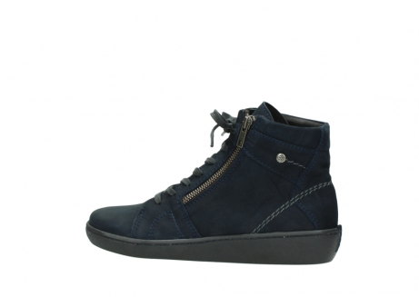 wolky lace up boots 08130 zeus 50800 blue oiled leather_2