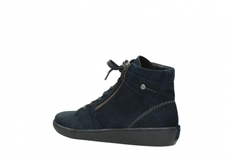 wolky lace up boots 08130 zeus 50800 blue oiled leather_3