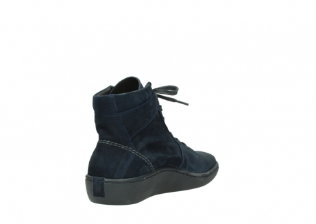 wolky lace up boots 08130 zeus 50800 blue oiled leather_9