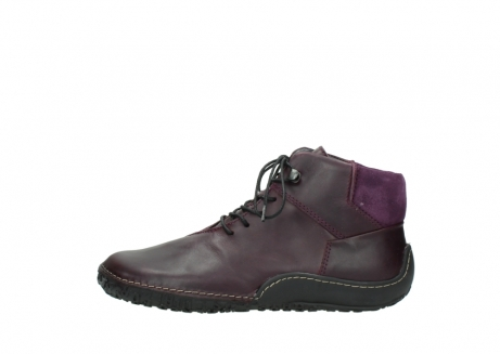 wolky lace up boots 08361 mokola 50600 dark purple black oiled leather_1