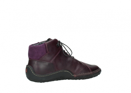 wolky lace up boots 08361 mokola 50600 dark purple black oiled leather_11