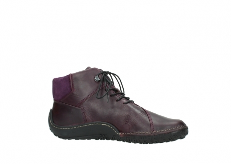 wolky lace up boots 08361 mokola 50600 dark purple black oiled leather_14