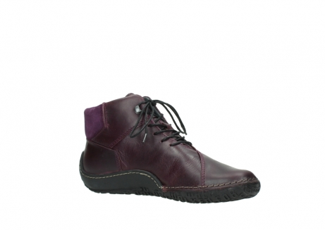 wolky lace up boots 08361 mokola 50600 dark purple black oiled leather_15