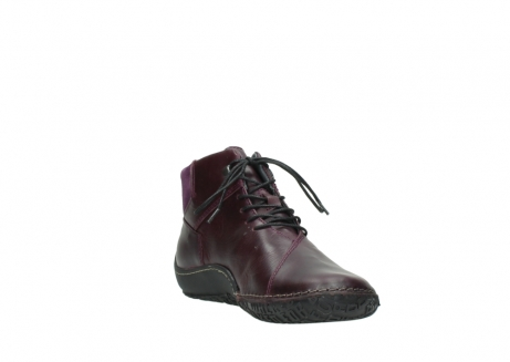 wolky lace up boots 08361 mokola 50600 dark purple black oiled leather_17