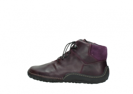 wolky lace up boots 08361 mokola 50600 dark purple black oiled leather_2