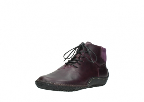 wolky lace up boots 08361 mokola 50600 dark purple black oiled leather_22