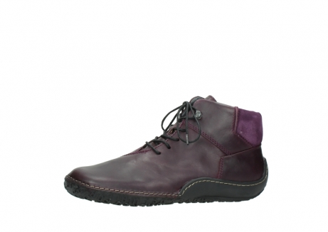 wolky lace up boots 08361 mokola 50600 dark purple black oiled leather_24