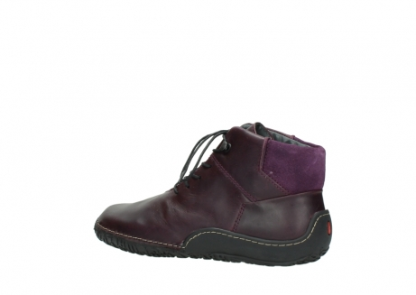 wolky lace up boots 08361 mokola 50600 dark purple black oiled leather_3
