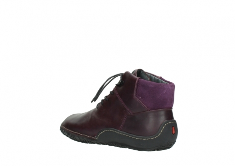 wolky lace up boots 08361 mokola 50600 dark purple black oiled leather_4