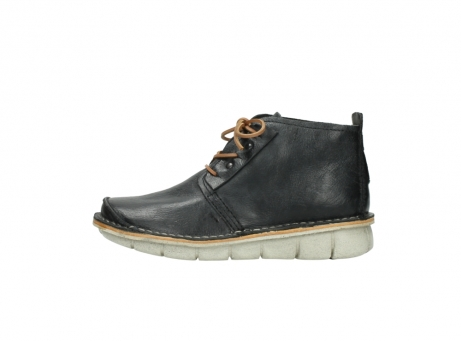 wolky lace up boots 08386 iberia 30070 black summer leather_1