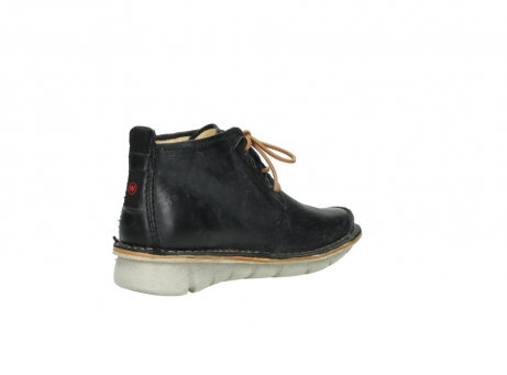 wolky lace up boots 08386 iberia 30070 black summer leather_10