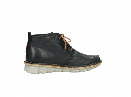 wolky lace up boots 08386 iberia 30070 black summer leather_12