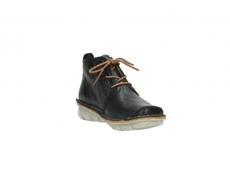 wolky lace up boots 08386 iberia 30070 black summer leather_17