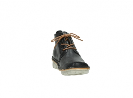 wolky lace up boots 08386 iberia 30070 black summer leather_18