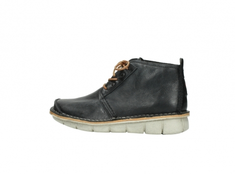 wolky lace up boots 08386 iberia 30070 black summer leather_2