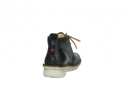 wolky lace up boots 08386 iberia 30070 black summer leather_8