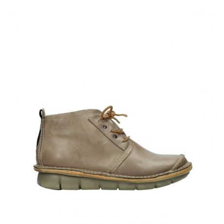 wolky bottines a lacets 08386 iberia 30380 cuir beige