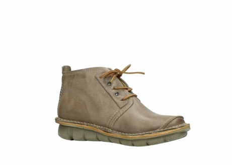 wolky bottines a lacets 08386 iberia 30380 cuir beige_15