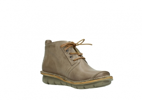wolky bottines a lacets 08386 iberia 30380 cuir beige_16