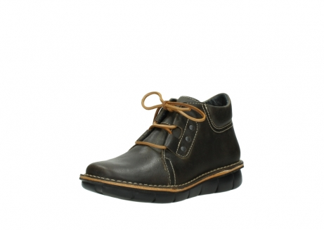 wolky bottines a lacets 08395 tara 50733 cuir vert_22