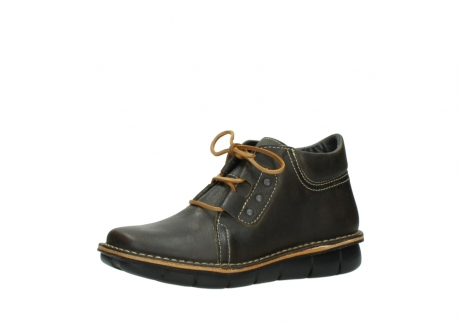 wolky bottines a lacets 08395 tara 50733 cuir vert_23