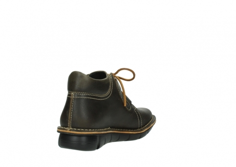 wolky bottines a lacets 08395 tara 50733 cuir vert_9