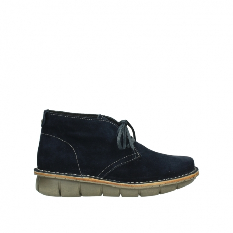wolky boots 08397 wilna 40870 blau suede