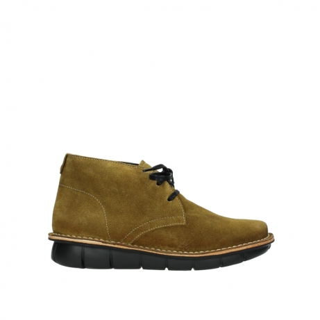 wolky bottines a lacets 08397 wilna 40920 suegravede jaune ocre