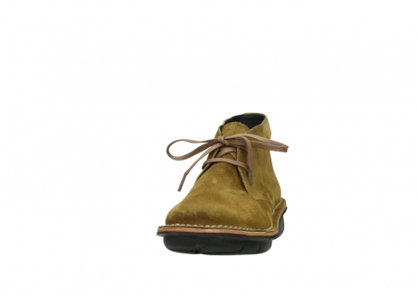 wolky bottines a lacets 08397 wilna 40920 suegravede jaune ocre_20