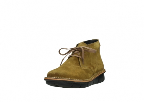 wolky bottines a lacets 08397 wilna 40920 suegravede jaune ocre_21