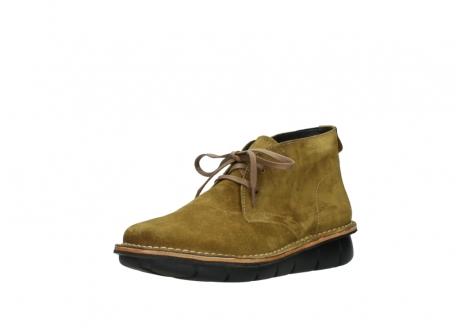 wolky bottines a lacets 08397 wilna 40920 suegravede jaune ocre_22