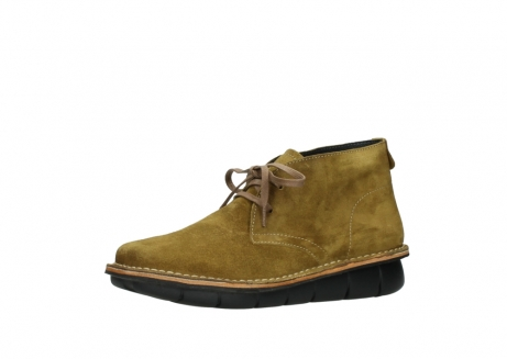 wolky bottines a lacets 08397 wilna 40920 suegravede jaune ocre_23