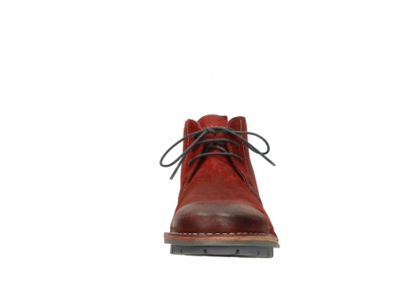 wolky lace up boots 08555 negev 40500 red suede_19